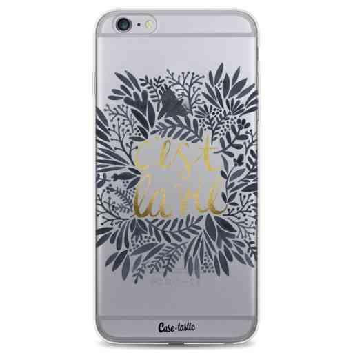 Casetastic Softcover Apple iPhone 6 Plus / 6s Plus - Cest La Vie BlackGold