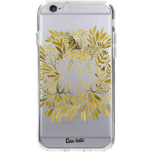 Casetastic Softcover Apple iPhone 6 / 6s  - Cest La Vie Gold