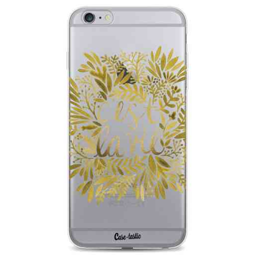 Casetastic Softcover Apple iPhone 6 Plus / 6s Plus - Cest La Vie Gold