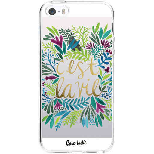 Casetastic Softcover Apple iPhone 5 / 5s / SE - Cest La Vie Multi