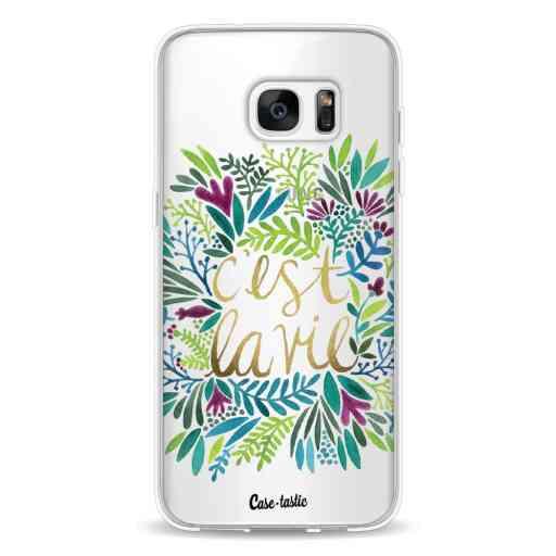 Casetastic Softcover Samsung Galaxy S7 Edge - Cest La Vie Multi