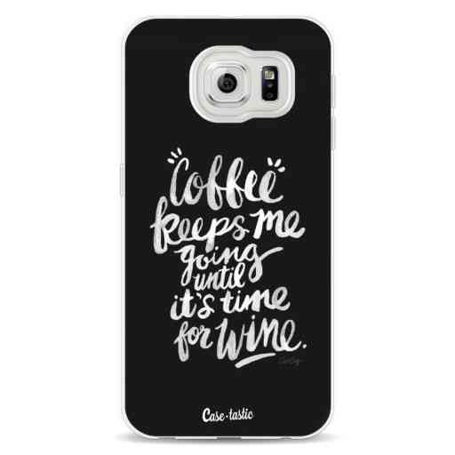 Casetastic Softcover Samsung Galaxy S6 - Coffee Wine White