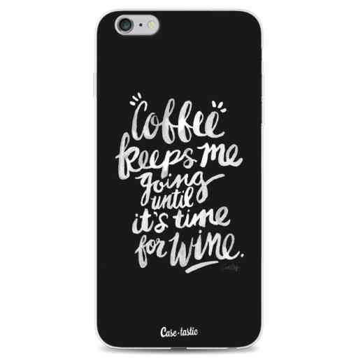 Casetastic Softcover Apple iPhone 6 Plus / 6s Plus - Coffee Wine White