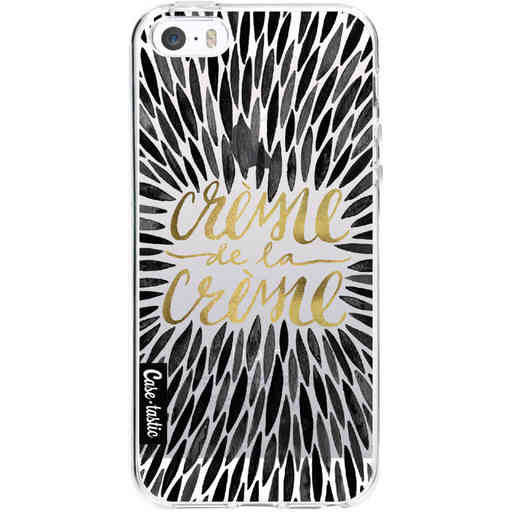 Casetastic Softcover Apple iPhone 5 / 5s / SE - Creme de la Creme Black
