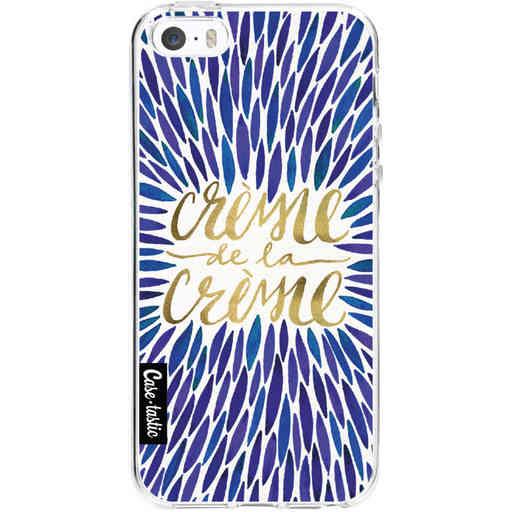 Casetastic Softcover Apple iPhone 5 / 5s / SE - Creme de la Creme Navy