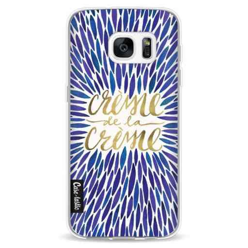 Casetastic Softcover Samsung Galaxy S7 - Creme de la Creme Navy