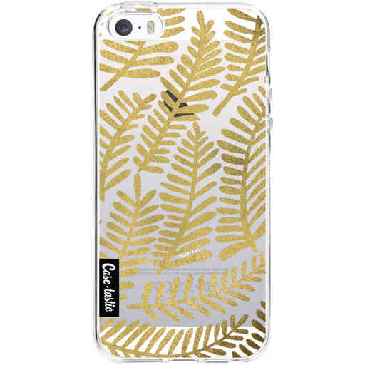 Casetastic Softcover Apple iPhone 5 / 5s / SE - Gold Fronds