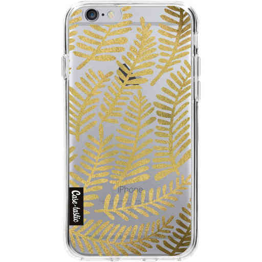 Casetastic Softcover Apple iPhone 6 / 6s  - Gold Fronds