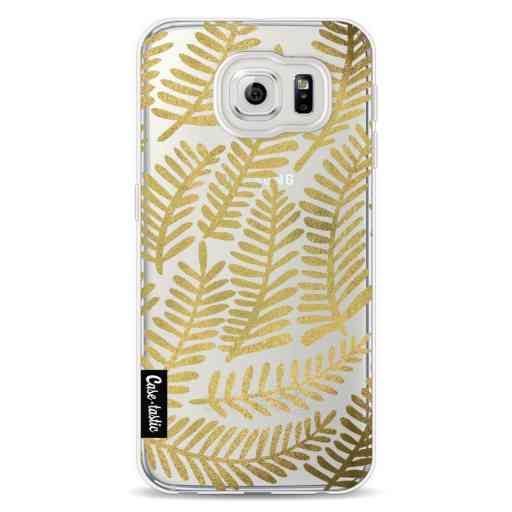 Casetastic Softcover Samsung Galaxy S6 - Gold Fronds
