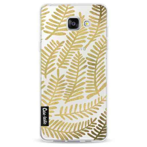 Casetastic Softcover Samsung Galaxy A5 (2016) - Gold Fronds