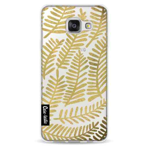 Casetastic Softcover Samsung Galaxy A3 (2016) - Gold Fronds