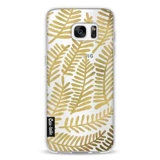 Casetastic Softcover Samsung Galaxy S7 Edge - Gold Fronds