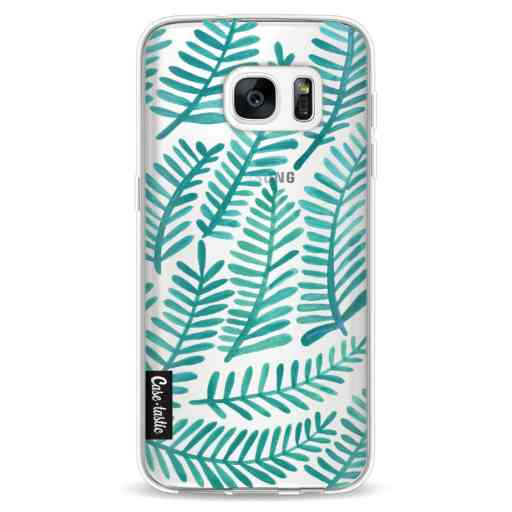 Casetastic Softcover Samsung Galaxy S7 - Turquoise Fronds