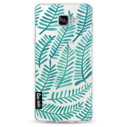 Casetastic Softcover Samsung Galaxy A5 (2016) - Turquoise Fronds