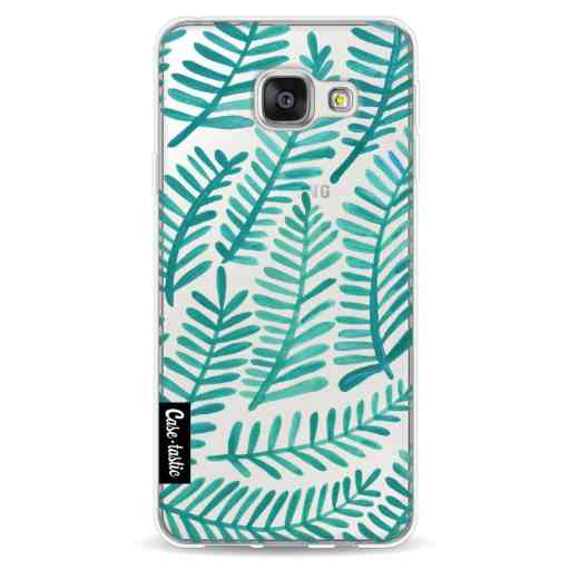 Casetastic Softcover Samsung Galaxy A3 (2016) - Turquoise Fronds