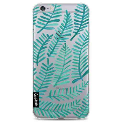 Casetastic Softcover Apple iPhone 6 Plus / 6s Plus - Turquoise Fronds