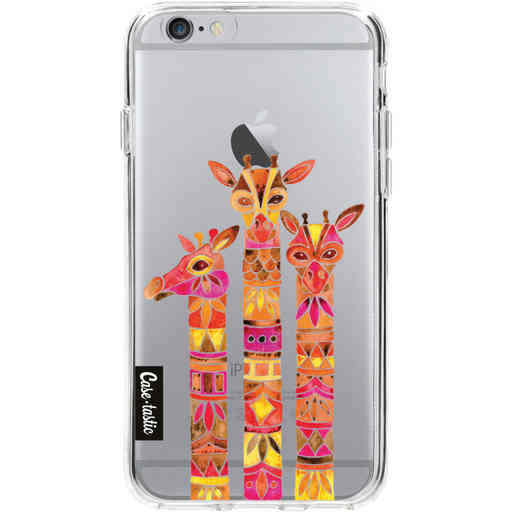 Casetastic Softcover Apple iPhone 6 / 6s  - Fiery Giraffes