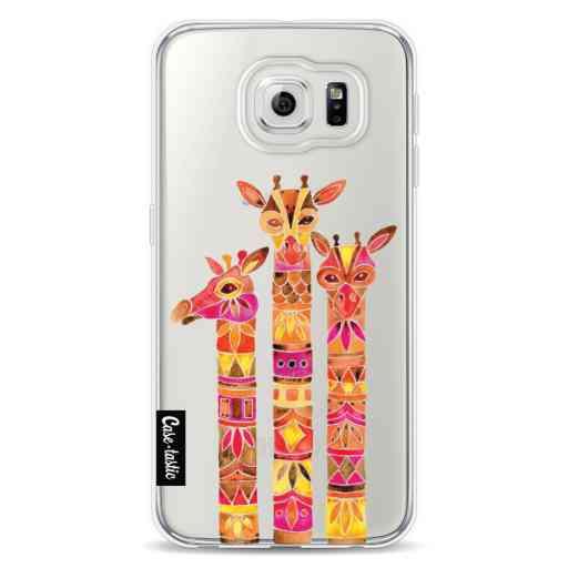 Casetastic Softcover Samsung Galaxy S6 - Fiery Giraffes