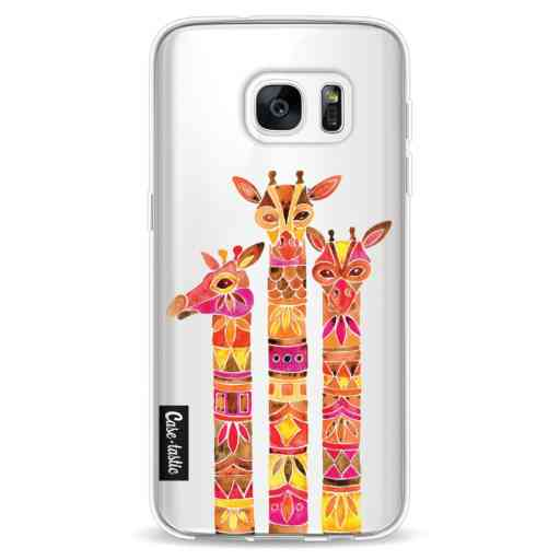 Casetastic Softcover Samsung Galaxy S7 - Fiery Giraffes