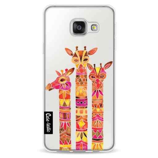 Casetastic Softcover Samsung Galaxy A3 (2016) - Fiery Giraffes