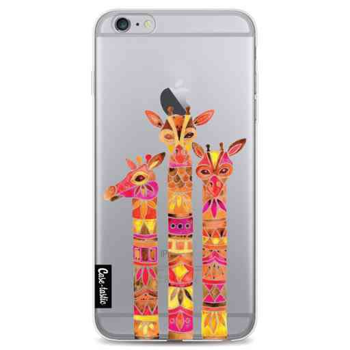 Casetastic Softcover Apple iPhone 6 Plus / 6s Plus - Fiery Giraffes