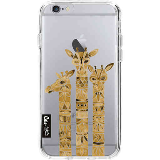 Casetastic Softcover Apple iPhone 6 / 6s  - Sepia Giraffes
