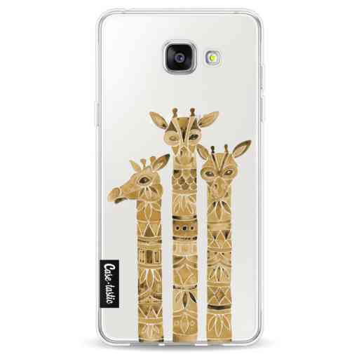 Casetastic Softcover Samsung Galaxy A5 (2016) - Sepia Giraffes