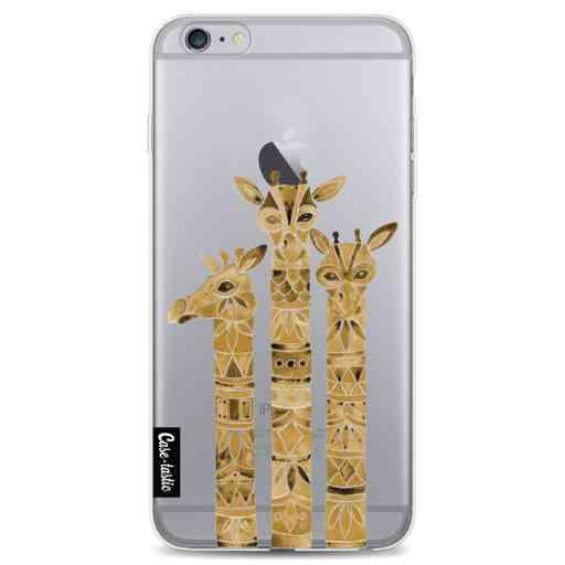 Casetastic Softcover Apple iPhone 6 Plus / 6s Plus - Sepia Giraffes