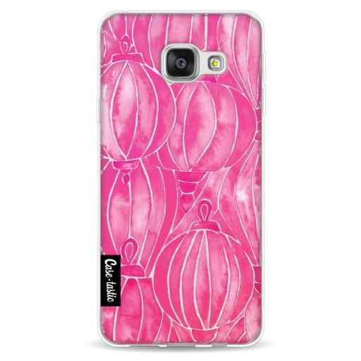 Casetastic Softcover Samsung Galaxy A3 (2016) - Pink Lanterns