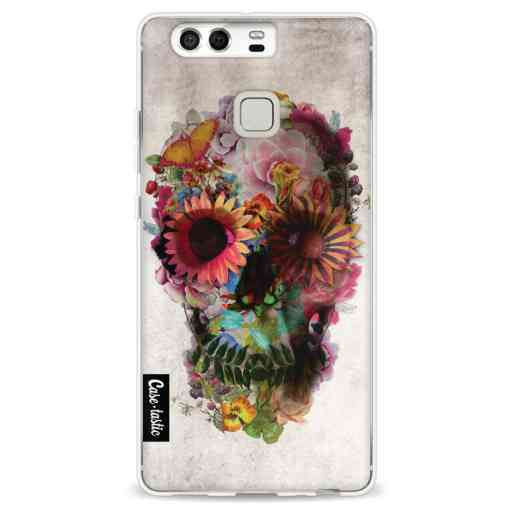 Casetastic Softcover Huawei P9 - Skull 2