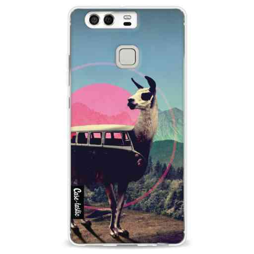 Casetastic Softcover Huawei P9 - Llama