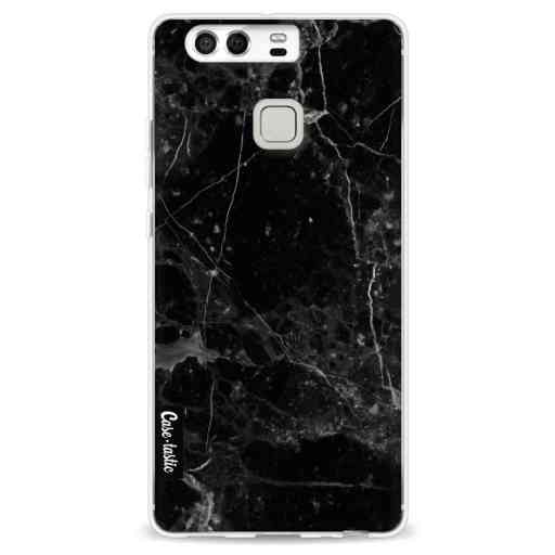 Casetastic Softcover Huawei P9 - Black Marble