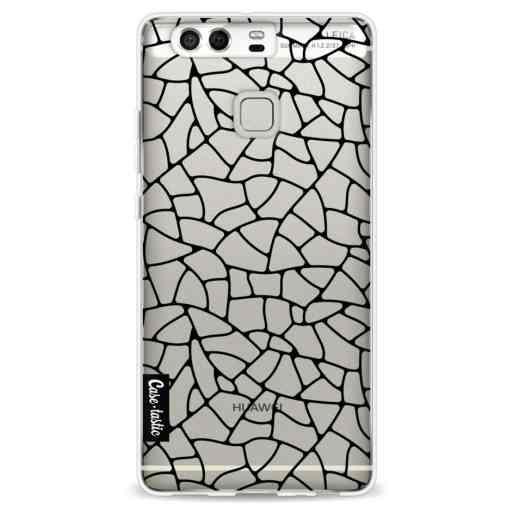 Casetastic Softcover Huawei P9 - Transparent Mosaic