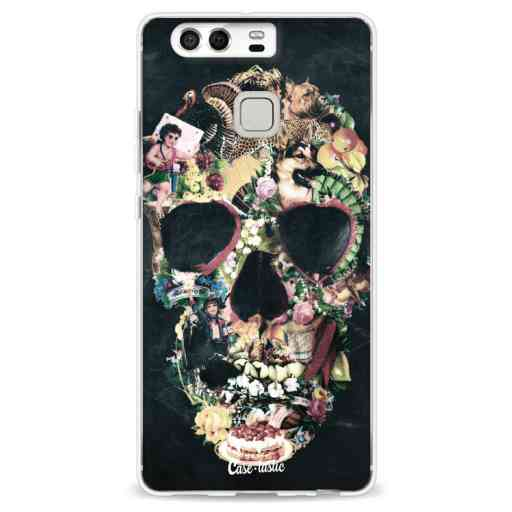 Casetastic Softcover Huawei P9 - Vintage Skull