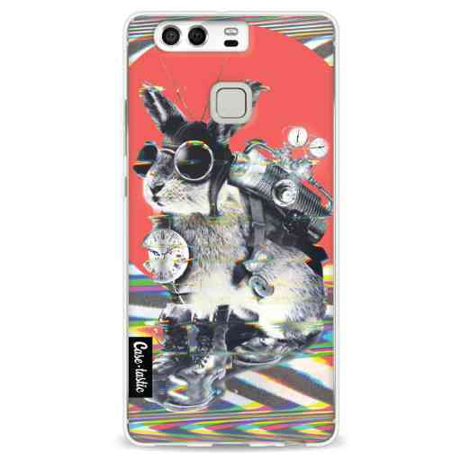Casetastic Softcover Huawei P9 - Time Traveller