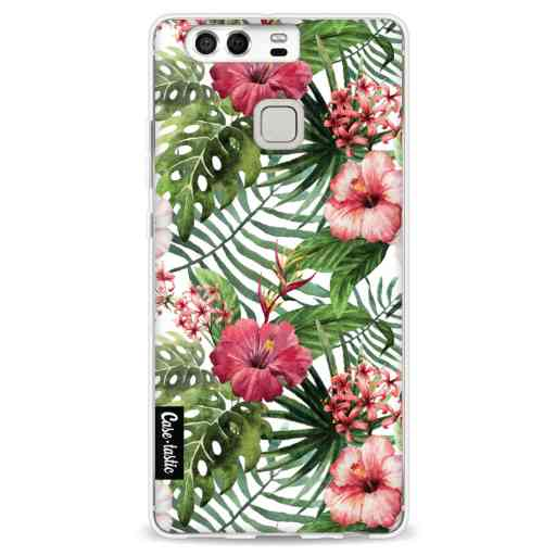 Casetastic Softcover Huawei P9 - Tropical Flowers
