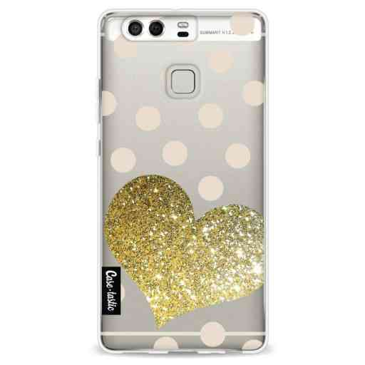 Casetastic Softcover Huawei P9 - Glitter Heart