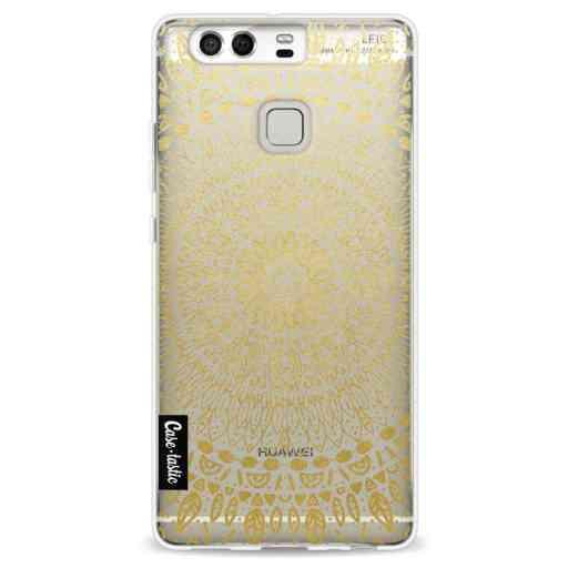 Casetastic Softcover Huawei P9 - Gold Mandala
