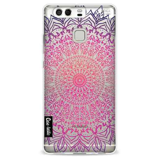 Casetastic Softcover Huawei P9 - Happy Mandala