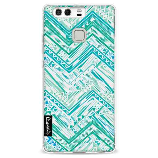 Casetastic Softcover Huawei P9 - Mint Tribal