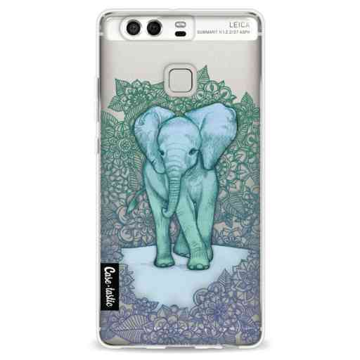 Casetastic Softcover Huawei P9 - Emerald Elephant