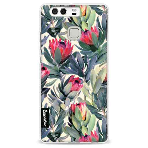 Casetastic Softcover Huawei P9 - Painted Protea