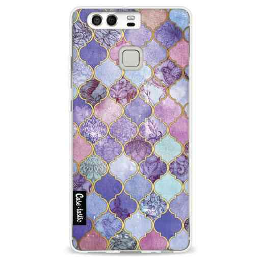 Casetastic Softcover Huawei P9 - Purple Moroccan Tiles