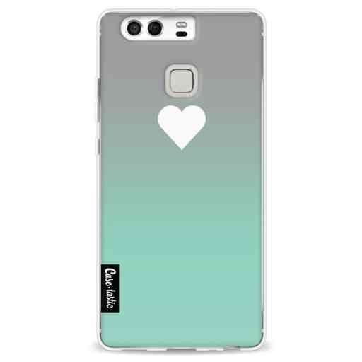 Casetastic Softcover Huawei P9 - Tiffany Heart Fade