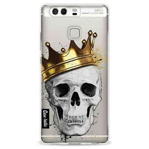 Casetastic Softcover Huawei P9 - Royal Skull