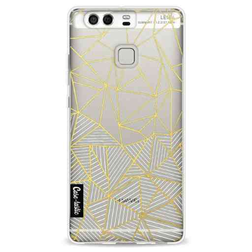 Casetastic Softcover Huawei P9 - Abstraction Half Half Transparent