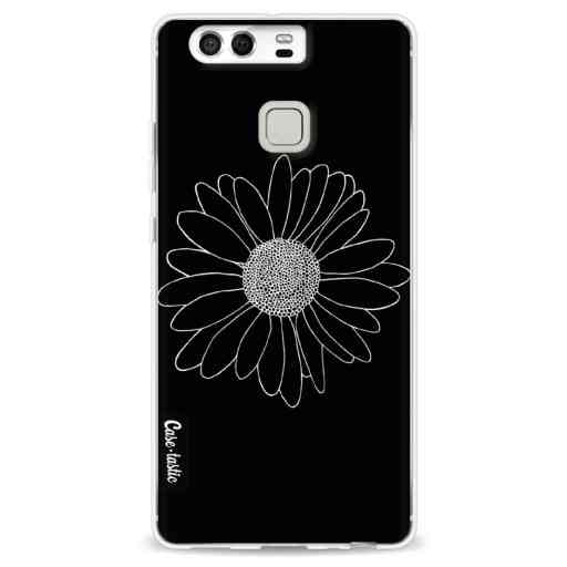 Casetastic Softcover Huawei P9 - Daisy Black