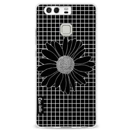 Casetastic Softcover Huawei P9 - Daisy Grid Black