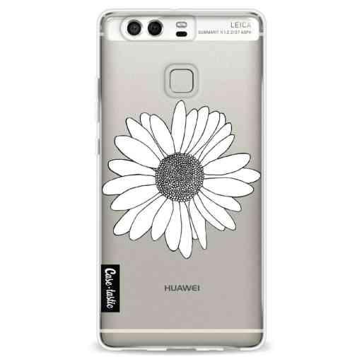 Casetastic Softcover Huawei P9 - Daisy Transparent