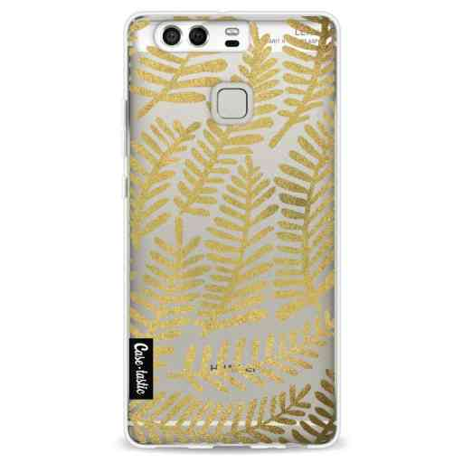 Casetastic Softcover Huawei P9 - Gold Fronds